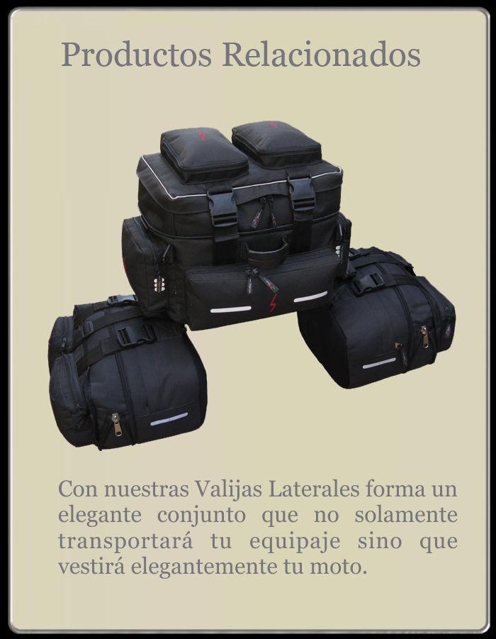 Bolso de cola SRaggio para moto