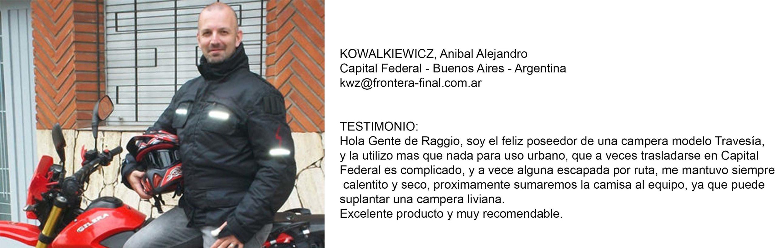 Testimonio KOWALKIEWICZ