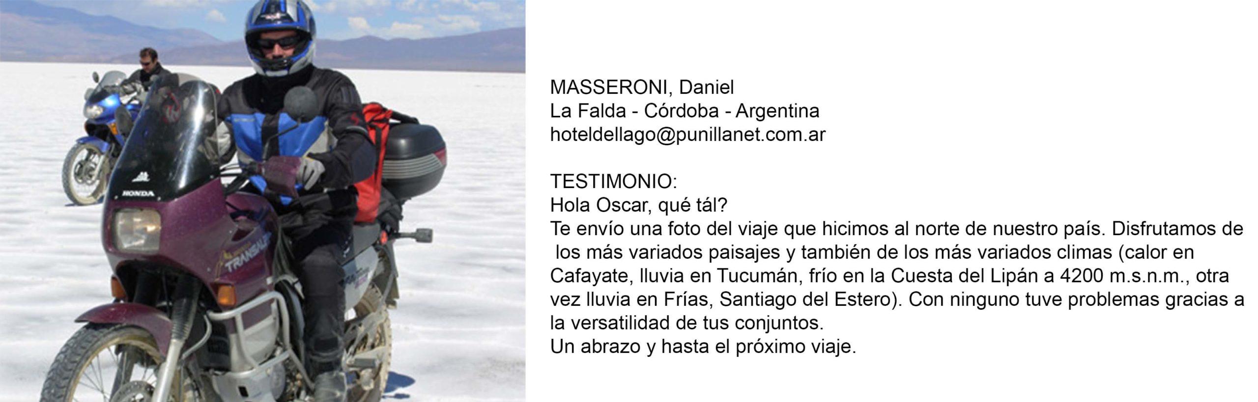 Testimonio Masseroni