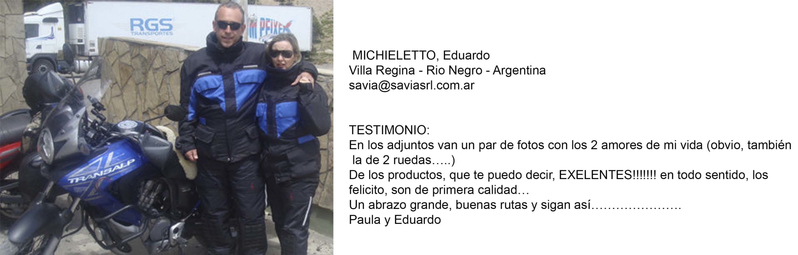Testimonio Michieletto