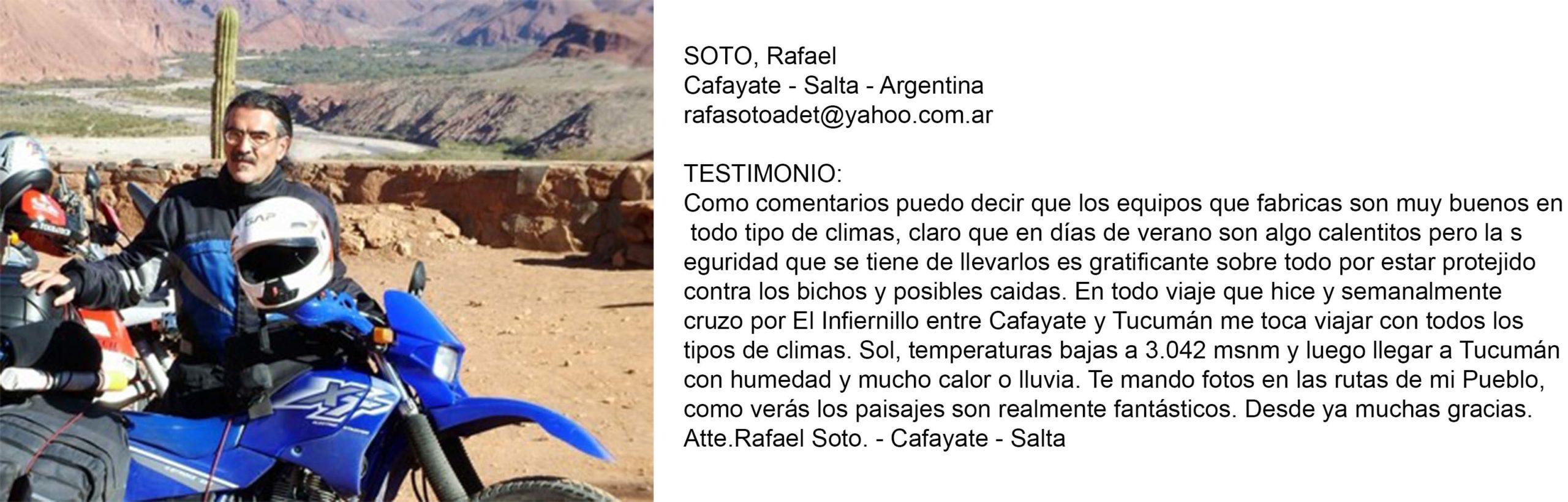Testimonio Soto