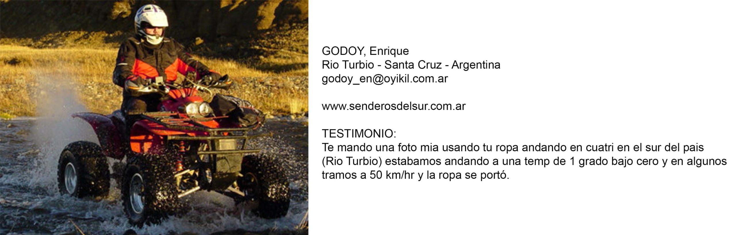 Testimonio godoy